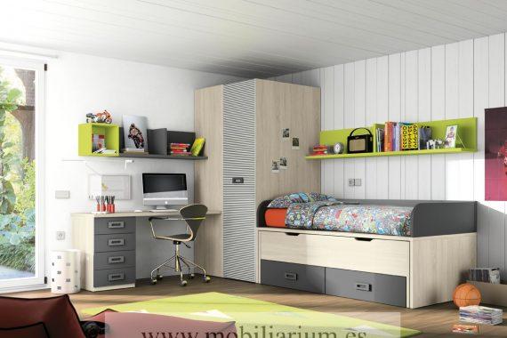 dormitorio juveniles