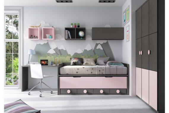 Dormitorios juveniles e infantiles baratos comprar for Dormitorios juveniles modernos precios