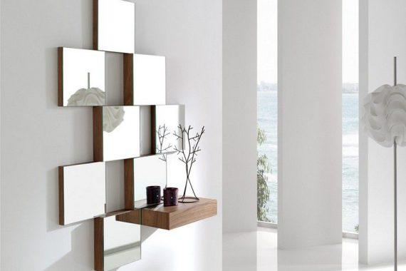 recibidores y espejos