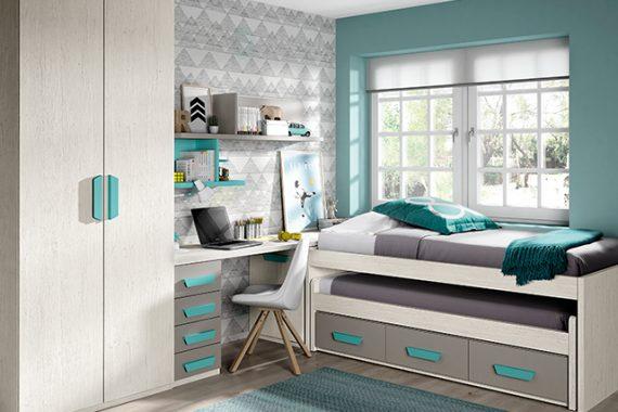 Dormitorios juveniles baratos en valencia comprar for Muebles refolio dormitorios juveniles