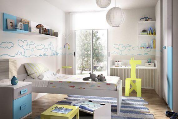 Dormitorios Infantiles Rimobel - Composición 601 - Catálogo Mundo Joven 2014