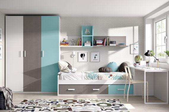 Dormitorios Juveniles Rimobel - Composición C-31 - Catálogo One