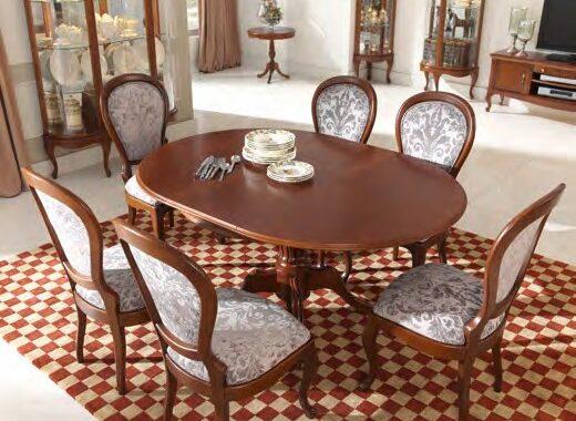 mesas estilo clasico