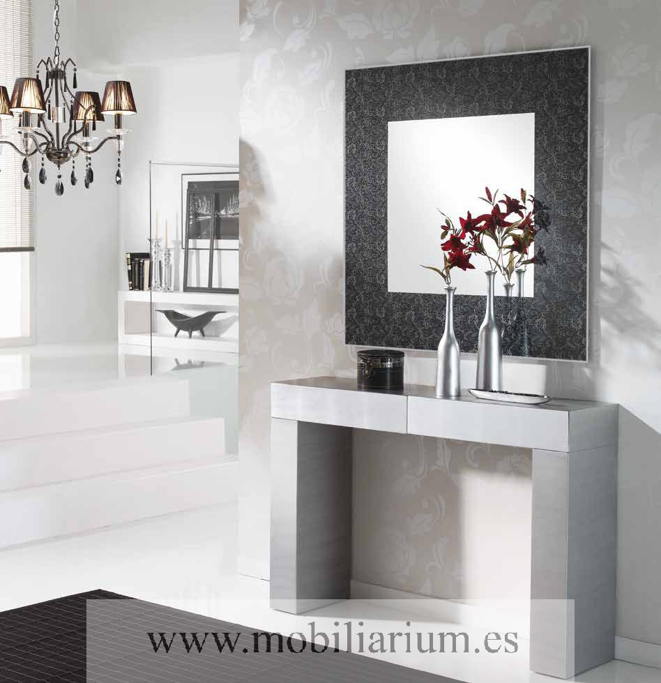 Consolas modernas para recibidor perfect espejo con lunas - Consolas modernas para recibidor ...