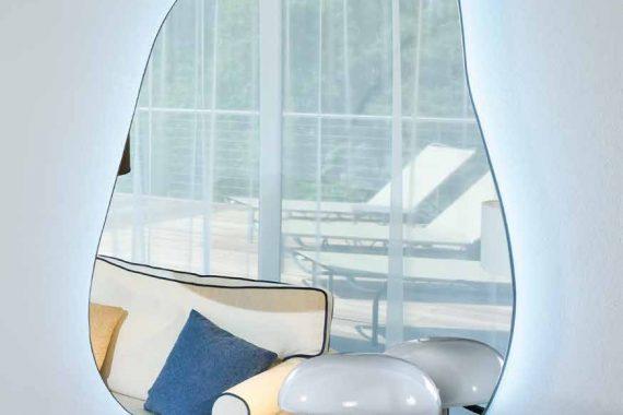 Espejos Modernos Disarte - Modelo Atlanta Laguna Iluminacion Led - Catálogo Artedis - Mobiliarium