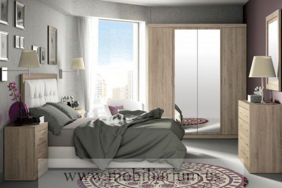 Dormitorios Azor - Composición 237 - Catálogo Jordan - Mobiliarium