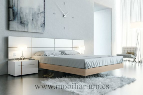 Dormitorio de Matrimonio García Sabate - Catálogo Life - Composición L219  - Mobiliarium