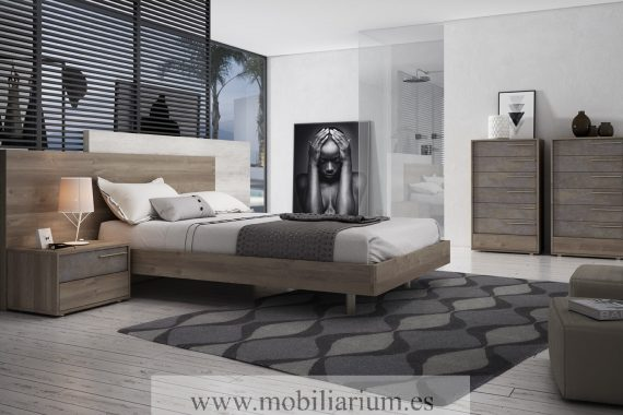 Dormitorios Matrimonio Moderno Torga - Catálogo Life Night - Composición 224 - Mobiliarium