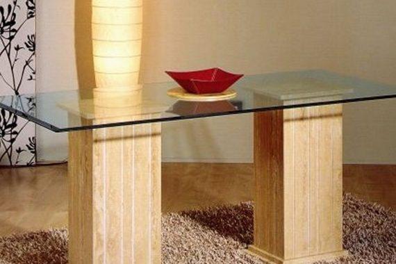 mesas estilo marmol