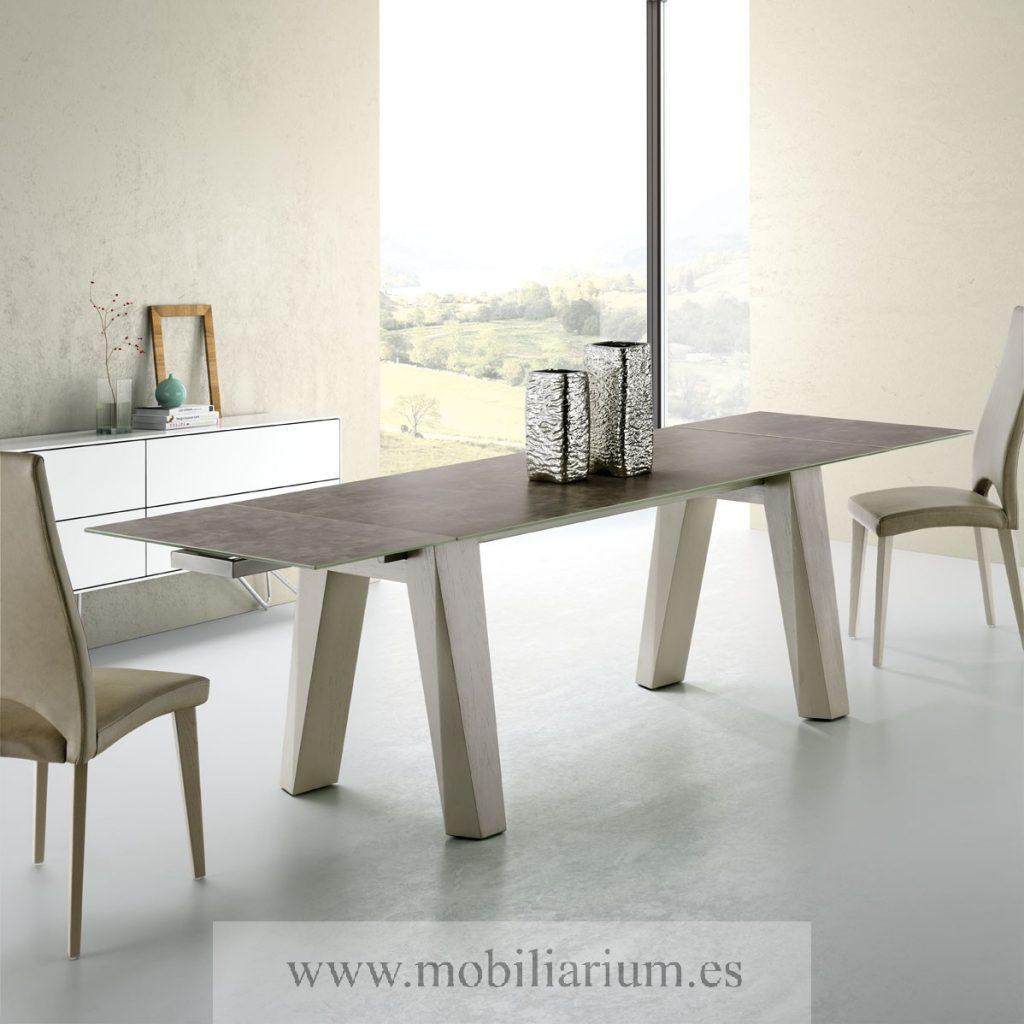 Mesas de comedor de madera modernas finest dutch mesa de - Mesas de comedor modernas ...