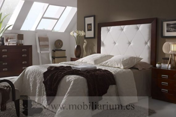 Dormitorios Matrimonio Rústicos Muñoz y Villareal - Catálogo Kalma - Composición 05 - Mobiliarium