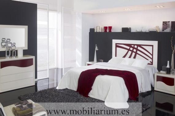 Dormitorios Matrimonio Rústicos Vallatex - Catálogo Mar - Composición 03 - Mobiliarium